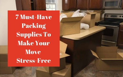 7 Must-Have Packing Supplies To Make Your Move Stress-Free