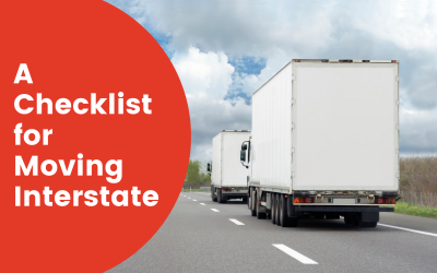 A Checklist for Moving Interstate 2021
